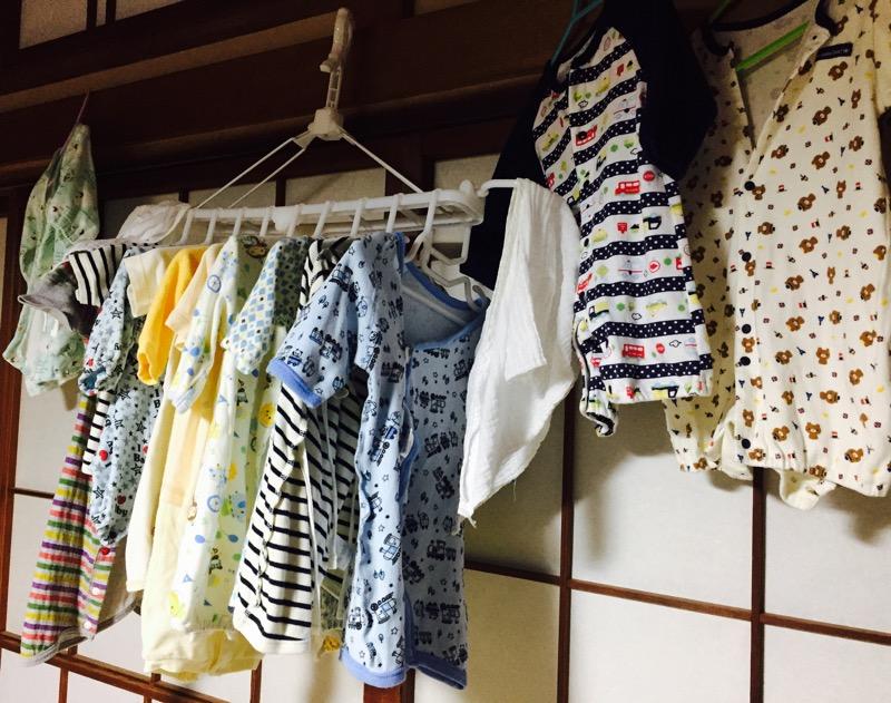 新生児用服をまとめて洗濯(*^-^*)