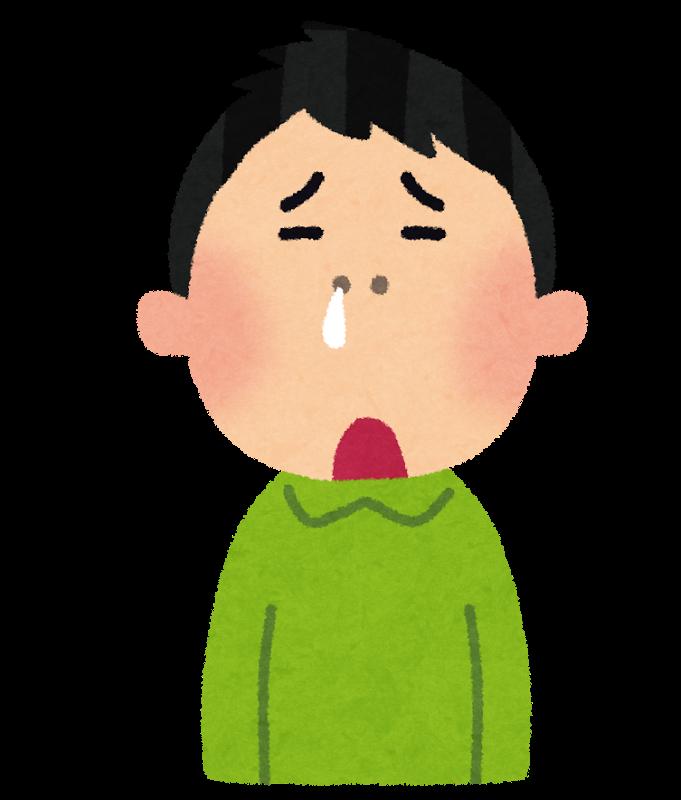 3歳、初めての耳鼻科
