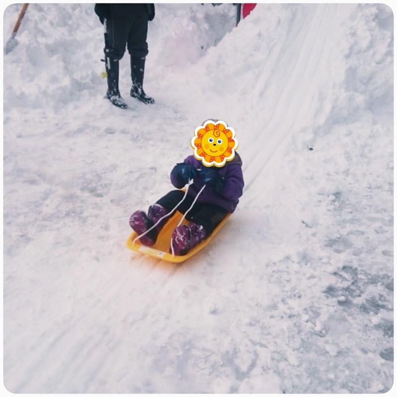 積雪が多すぎる!!そして雪遊び☆