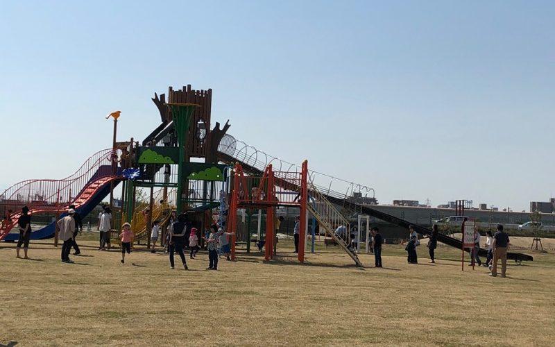 新潟市東区 4月開園!寺山公園「い〜ぷらす」行きました!