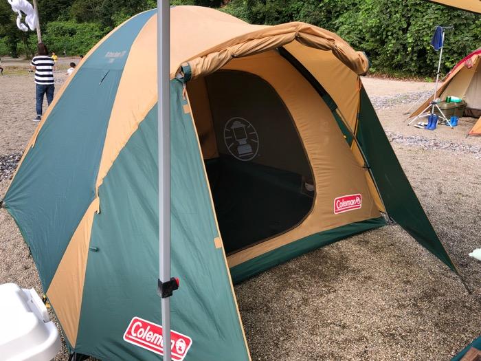 【アウトドアレンタル そらのした】でコールマンのキャンプテントを借りてみた!