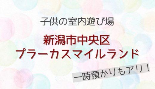 【子供の室内遊び場】新潟市中央区*プラーカスマイルランド【雨・雪・冬に!】