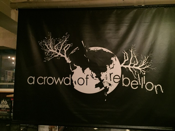 a crowd of rebellion 10/2新潟参戦♪