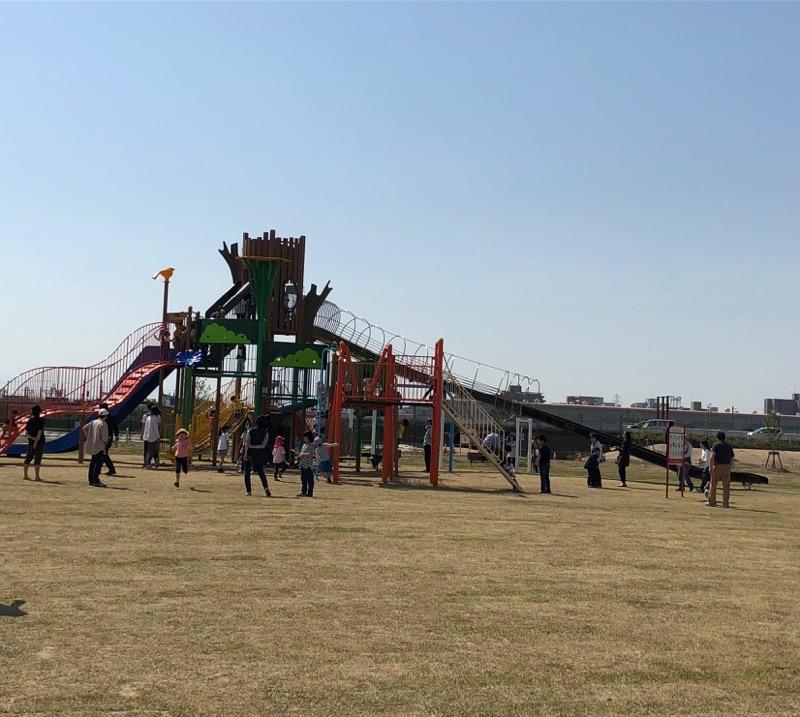 新潟市東区 *寺山公園「い〜てらす」子供の遊び場!駐車場あり!