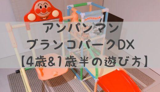 【子供の室内遊び】アンパンマン ブランコパークDX【4歳&1歳半の遊び方】