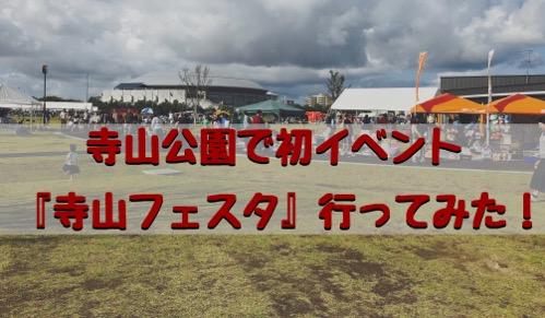 寺山公園で初イベント!新潟市東区『寺山フェスタ』子供大集合〜